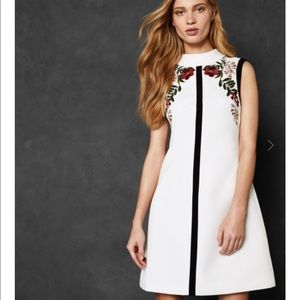 Ted Baker🔴Aimmiid High neck Tunic Dress size 4 TB